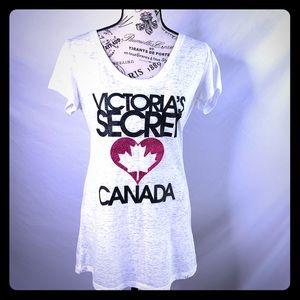 🇨🇦RARE! VS Canada supermodel tee